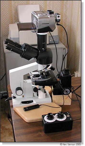 microscope Canon 300D